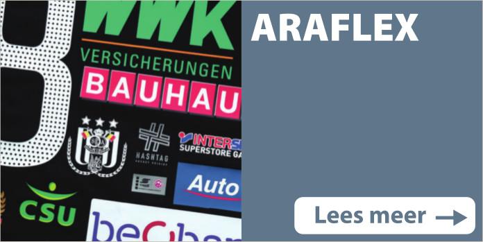 Textielbedrukkingen Araflex