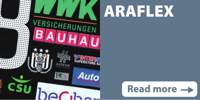 Screen print transfers Araflex
