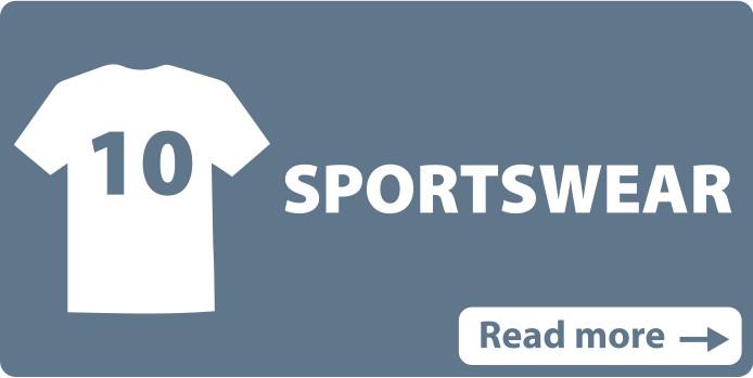Heat transfers sportswear