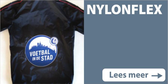 Textielbedrukkingen Nylonflex