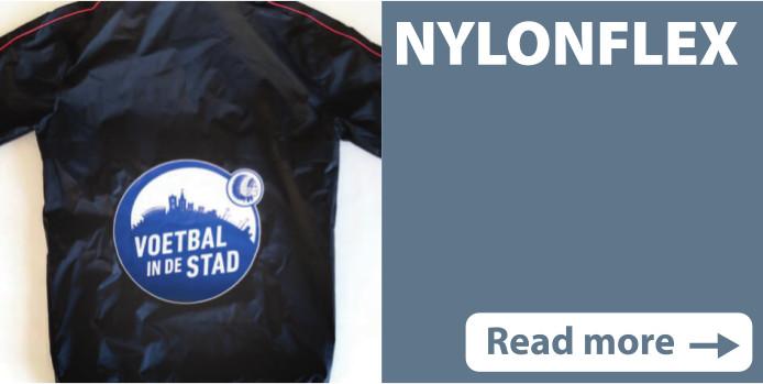 Screen print transfers Nylonflex